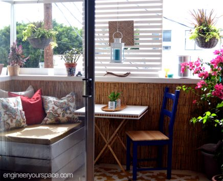 Rieten Balkon Meubels : Klein balkon inspiratie van isabelle inrichting huis