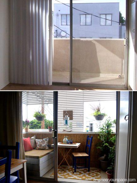 Klein balkon inspiratie van Isabelle
