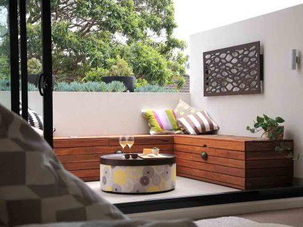 klein balkon als verlengde van kleine woonkamer inrichting. Black Bedroom Furniture Sets. Home Design Ideas