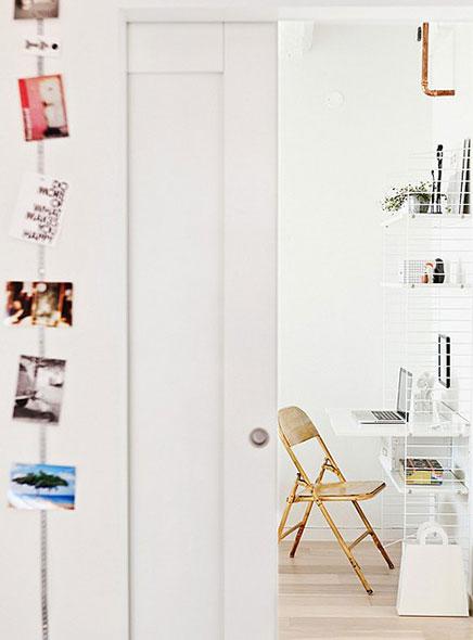 Klein industrieel loft appartement in Malmö