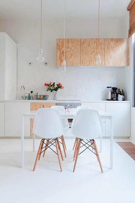 Klein loft appartement uit antwerpen van 40m inrichting - Rechthoekig woonoppervlak ...