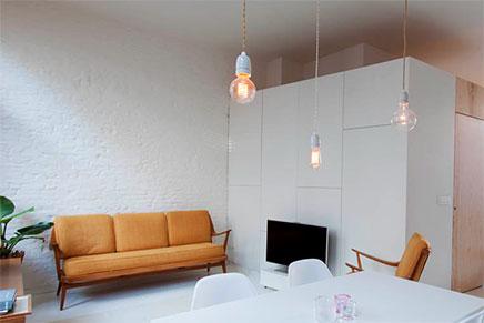 Klein loft appartement uit Antwerpen van 40m!