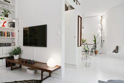 Klein scandinavisch appartement van 50m2 inrichting for Klein appartement design