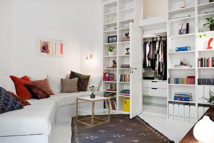 Klein Scandinavisch appartement van 50m2