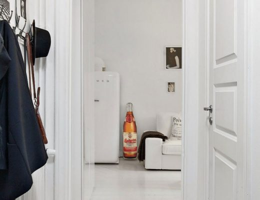 Klein en wit appartement van 22m2!