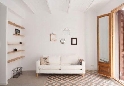 Dit kleine appartement is onherkenbaar na een inspirerende verbouwing!