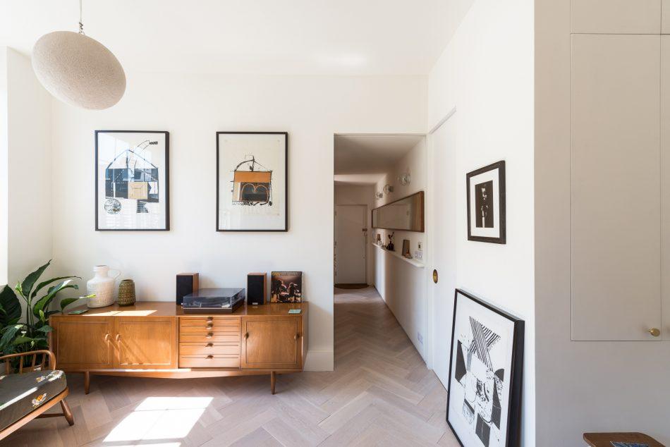 Dit kleine appartement uit Londen is super strak afgewerkt met de mooiste materialen!