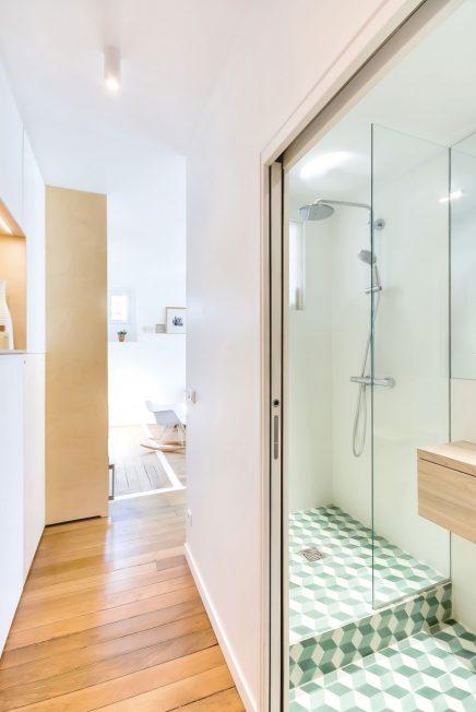 Kleine badkamer met praktische indeling