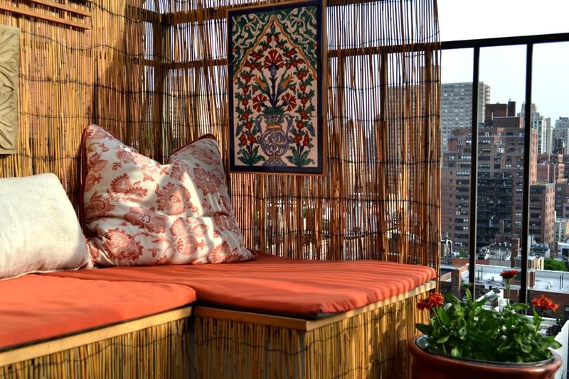 Rieten Balkon Meubels : Het kleine balkon van 4m2 van isabelle inrichting huis.com