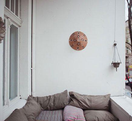 Kleine balkon van Tatjana Sprick