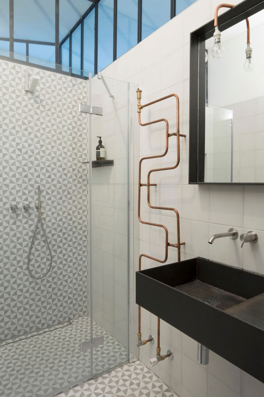 Stoere lampen badkamer: industrial track lighting. stoere lamp van ...