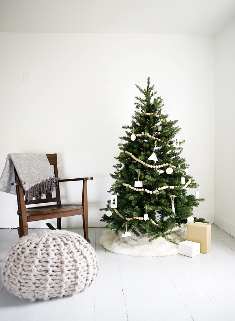 Kleine kerstboom