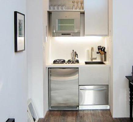 Op maat gemaakt industrieel keukenontwerp inrichting - Kleine keukenstudio ...