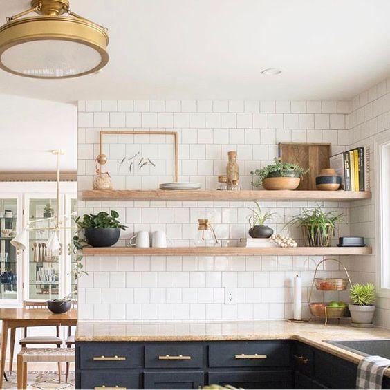 Kleine keuken tips wandplanken