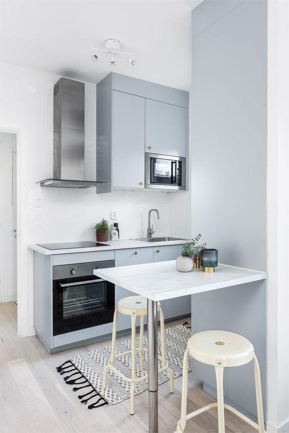 Kleine keuken wandkasten