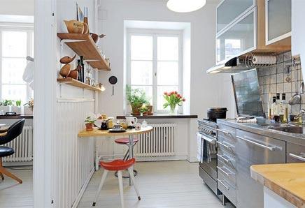 Keukeninrichting kleine keuken