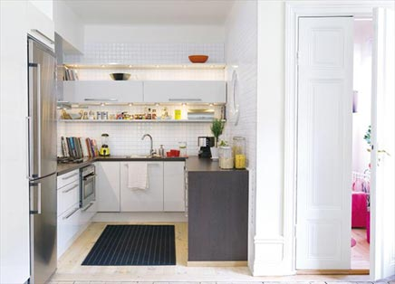 Kleine keuken inrichting huis.com