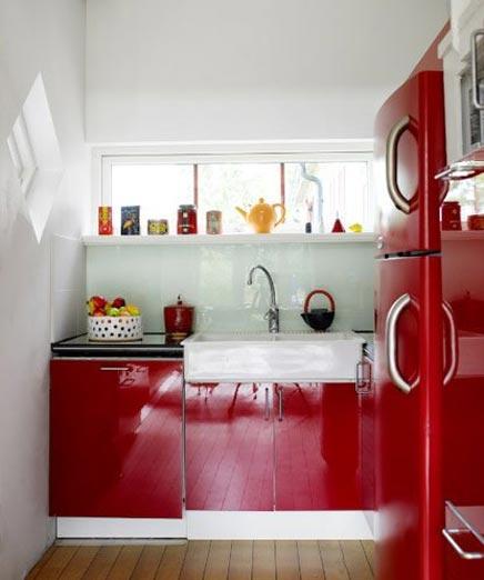 Kleine keuken inrichting - Decoration des petites cuisines ...