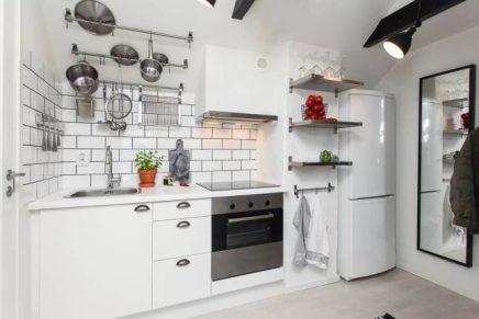 Kleine moderne keuken