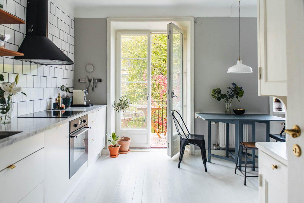 Open keuken kleine woonkamer: meer dan kleine keukens op keuken ...