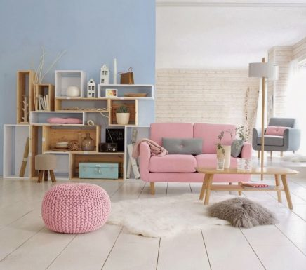 15x roze bank inrichting. Black Bedroom Furniture Sets. Home Design Ideas