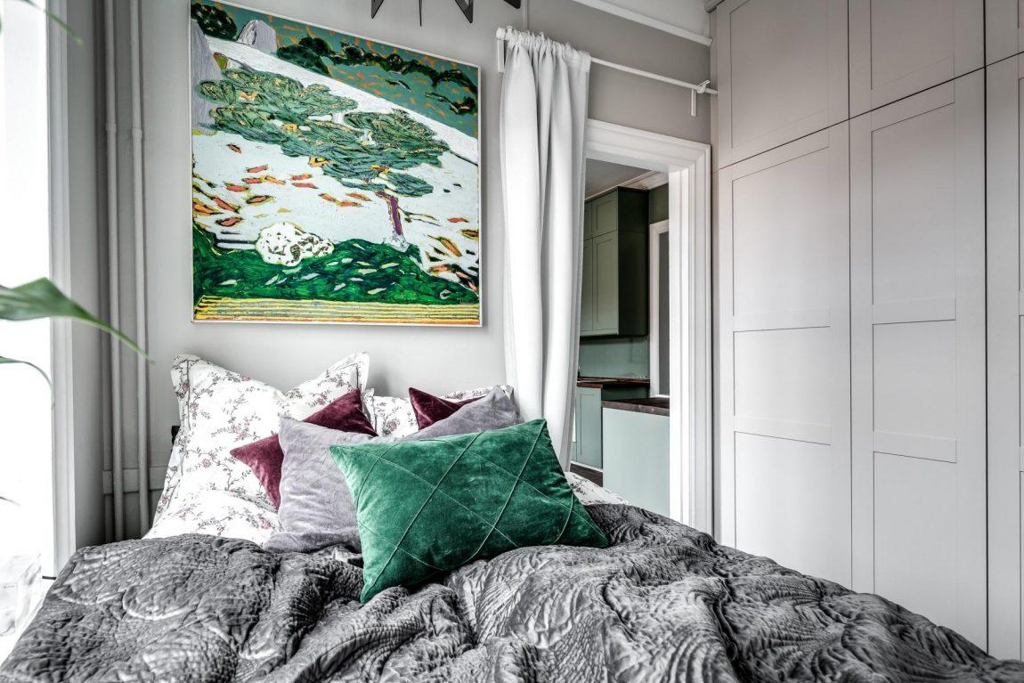 Wooninspiratie Kleine Slaapkamer : Kleine slaapkamer met grote inbouwkast inrichting huis