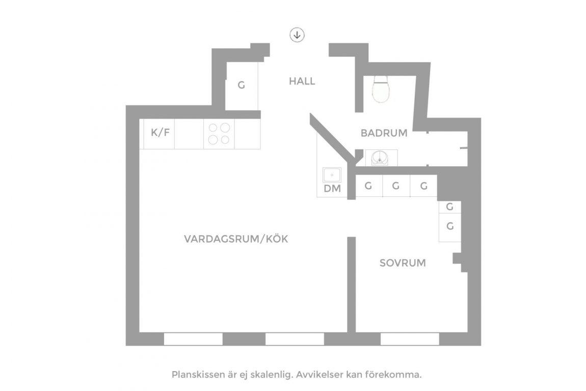 kleine-slaapkamer-inrichting