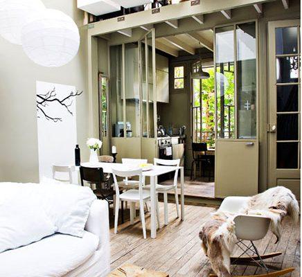 Kleine studio loft van 40m2 in Parijs