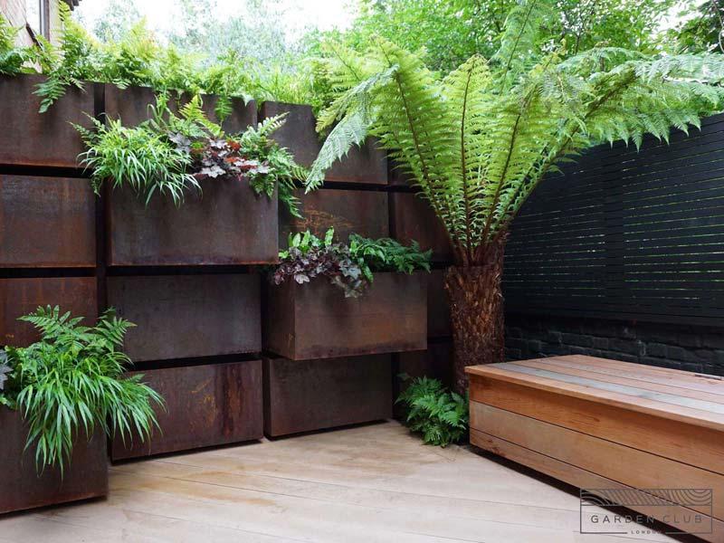 kleine tuin voorbeelden planten