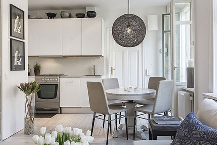Leuk idee voor inrichten van kleine woonkamer inrichting - Kleine moderne woonkamer ...