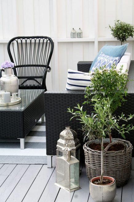 Kleine zomerse tuin van Hanna Mette