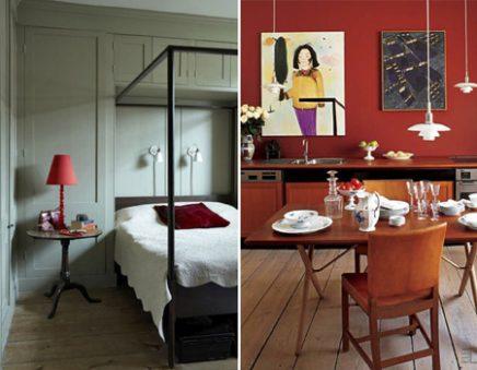 Kleur geeft een kamer karakter inrichting - Kleur zen kamer ...