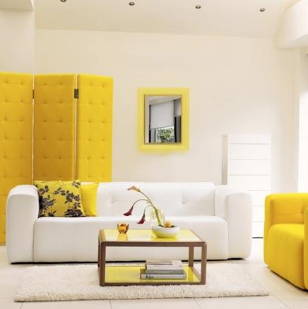 Kleurentrends 2010 voor de inrichting van je woonkamer for Huis interieur ideeen
