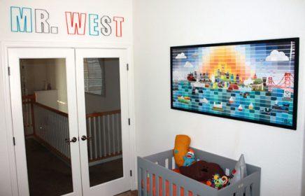 Bunte Kinderzimmer