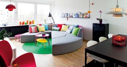 Bunte Wohnzimmer von Charlotte