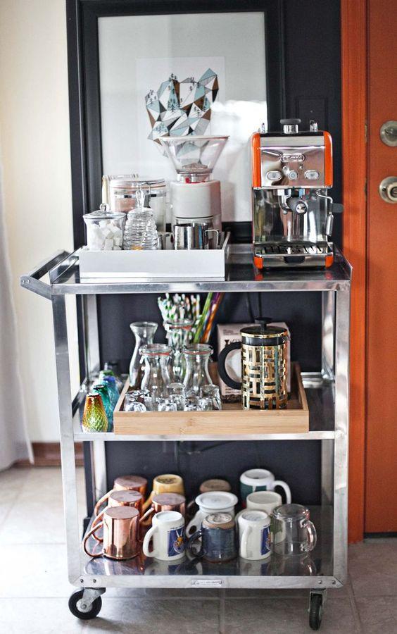 Koffiemachine plekje inrichting for Lijst inrichting huis