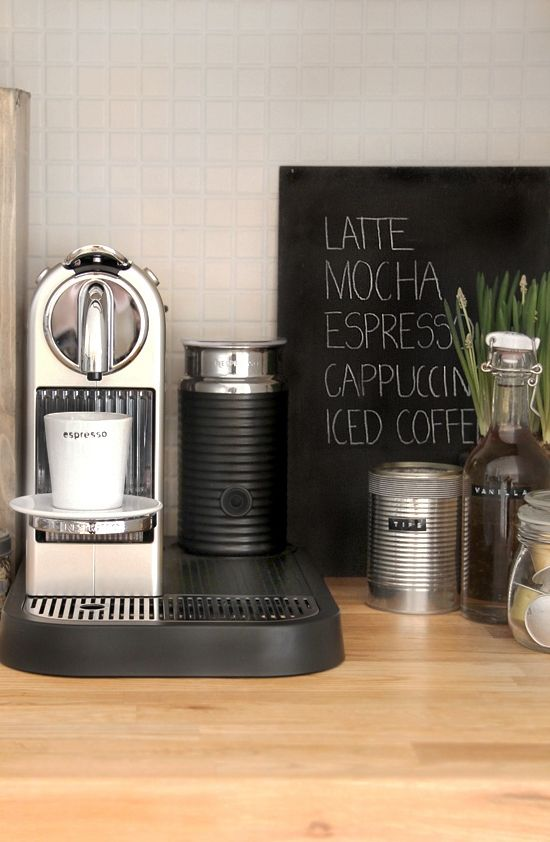 Koffiemachine plekje
