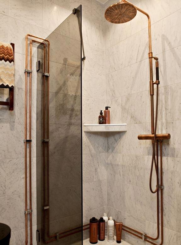 koperen buizen badkamer 3