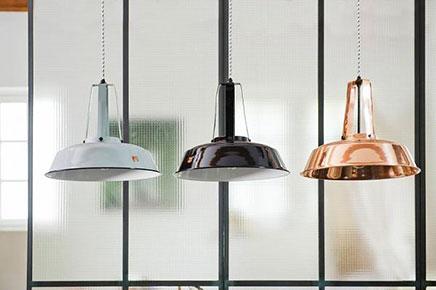 koperen lampen inrichting huis