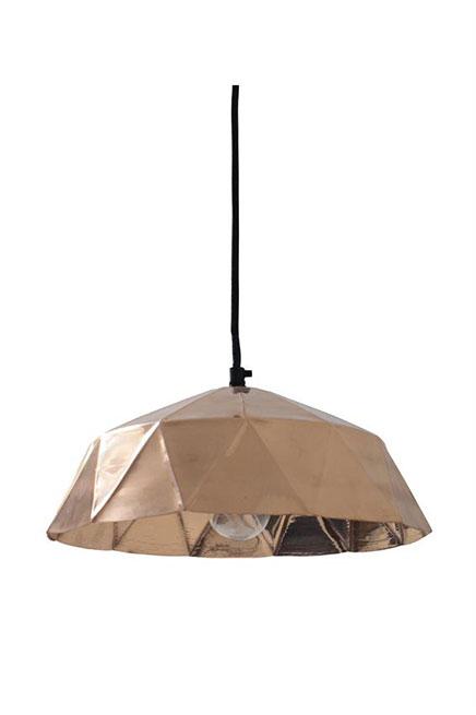 Koperen hanglamp HK living
