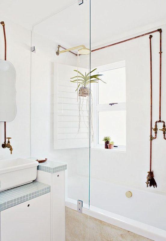 koperen leidingen badkamer-2