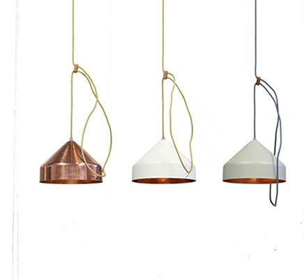 Koperen Llux hanglamp