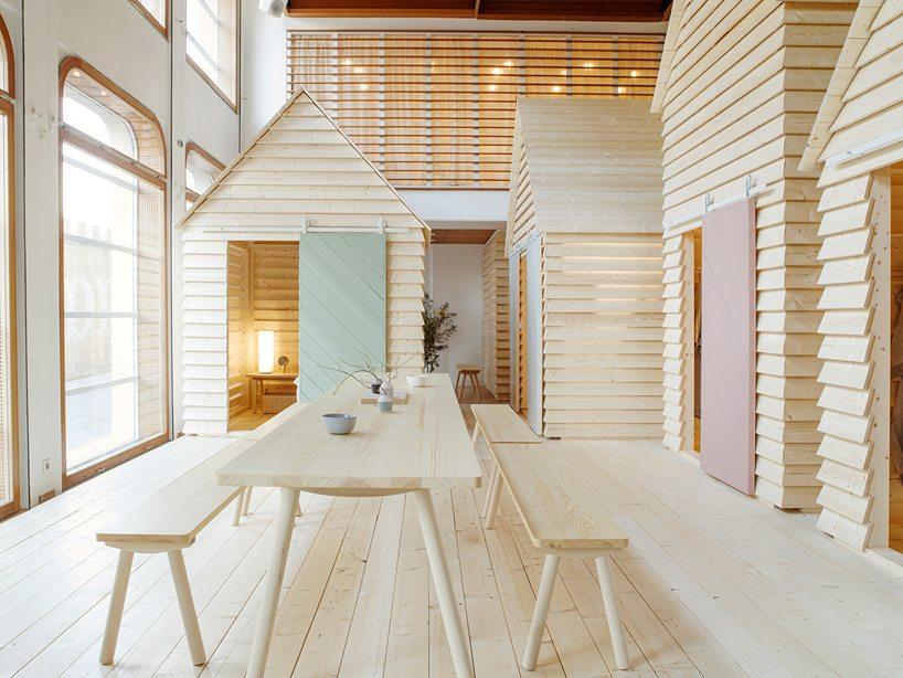 Koti een fins popup designhotel in parijs inrichting - Popup huis ...