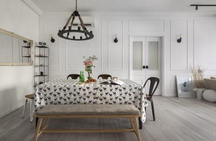 ... mix van Scandinavisch, industrieel en landelijk  Inrichting-huis.com