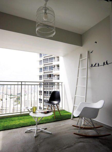 kunstgras-balkon