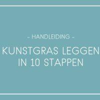 Kunstgras leggen in 10 stappen