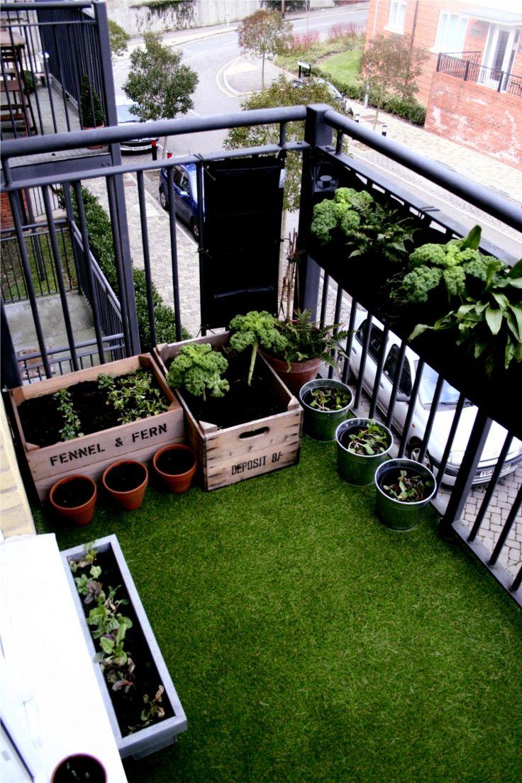 Zeer Kunstgras op het balkon | Inrichting-huis.com TW09