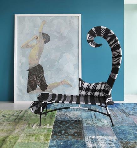 Künstlerisch wohnzimmer