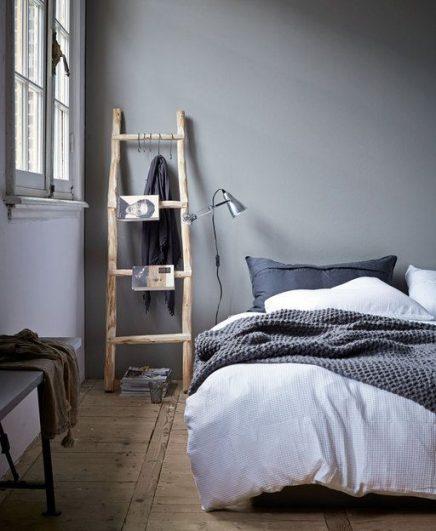 Ladder in slaapkamer