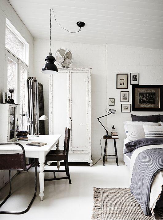 Lampen in een Scandinavisch interieur